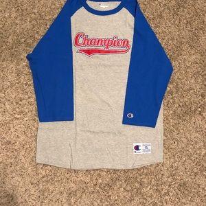 Champion Baseball Style T-shirt